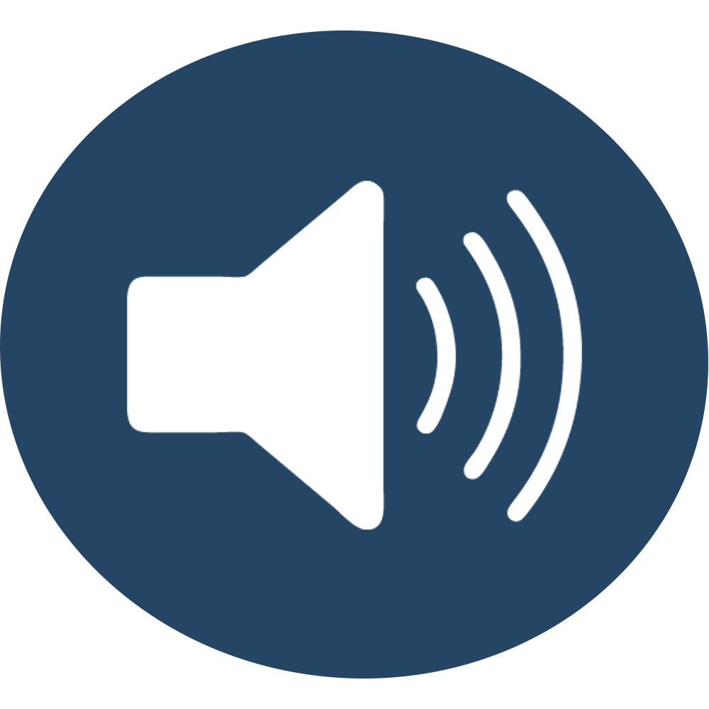 Icon Sound Design Blau