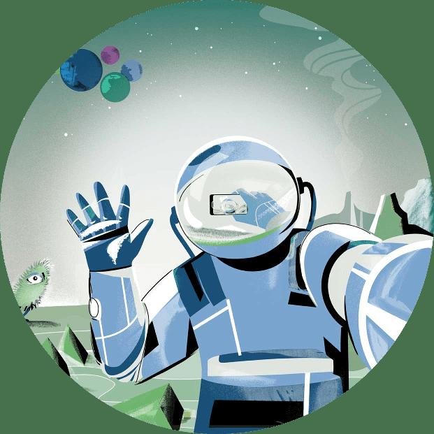 Astronaut Kontakt Min