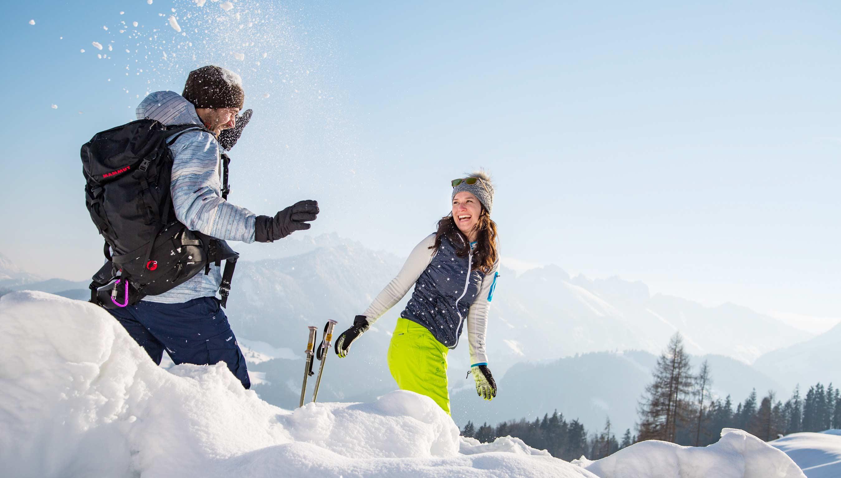 Kaiserwinkl Schneeschuhwandern 01